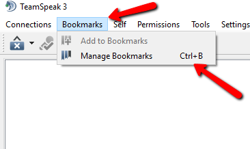 Open Bookmark Window